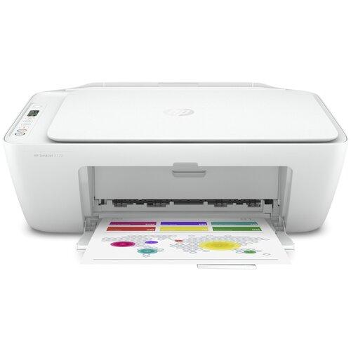 Фото - МФУ HP DeskJet 2720, белый мфу hp deskjet plus ink advantage 6075 белый