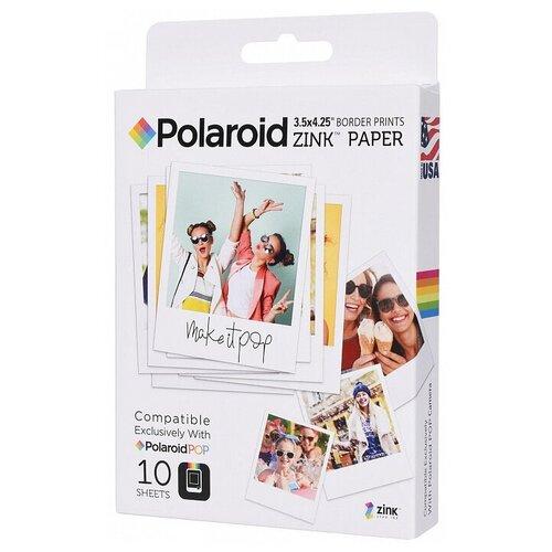 Фото - Бумага Polaroid A7 POLZL3X410 10 лист., белый бумага canon zink zp 2030 3214c002 20 лист белый