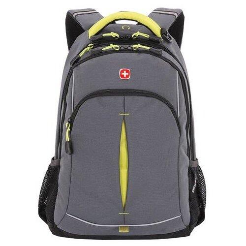 Рюкзак SWISSGEAR SA3165426408, серый/лаймовый
