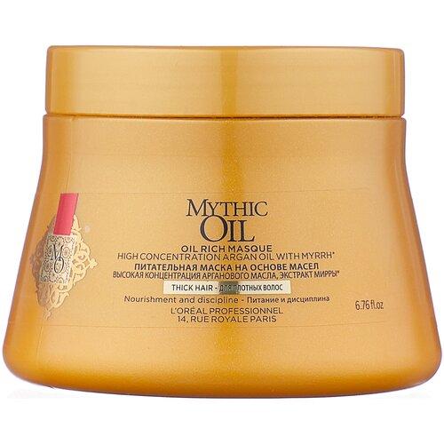 L'Oreal Professionnel Mythic Oil Маска для плотных волос, 200 мл loreal professionnel маска mythic oil для плотных волос 200 мл loreal professionnel mythic oil