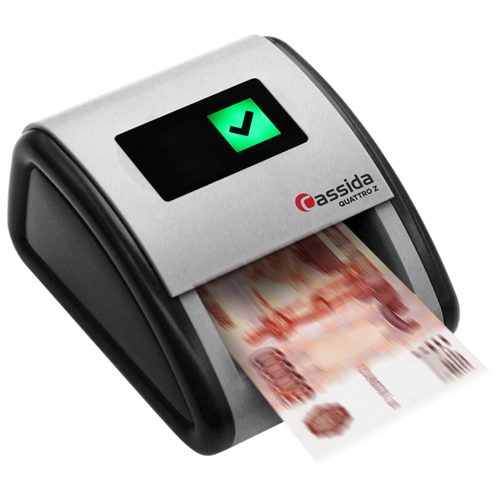 Автоматический детектор банкнот Cassida Quattro Z