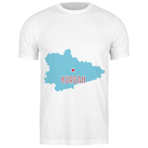Футболка классическая Курганская область. Курган #2192798 (цвет: БЕЛЫЙ, пол: МУЖ, качество: ЭКОНОМ, размер: S)