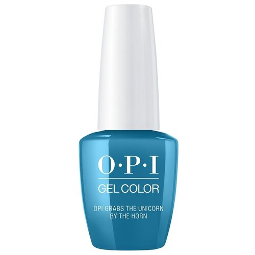 Фото - Гель-лак для ногтей OPI GelColor Scotland, 15 мл, Grabs The Unicorn By The Horn opi гель лак для ногтей gelcolor iceland check out the old geysirs 15 мл