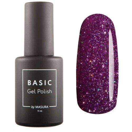 Гель-лак для ногтей Masura Basic, 11 мл, Пурпурный Микс  - Купить