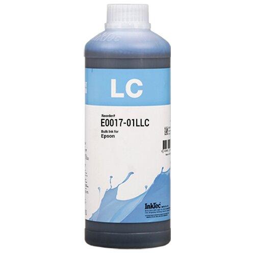 Фоточернила Inktec E0017-01LLC светло-голубые для Epson для заправки СНПЧ и ПЗК