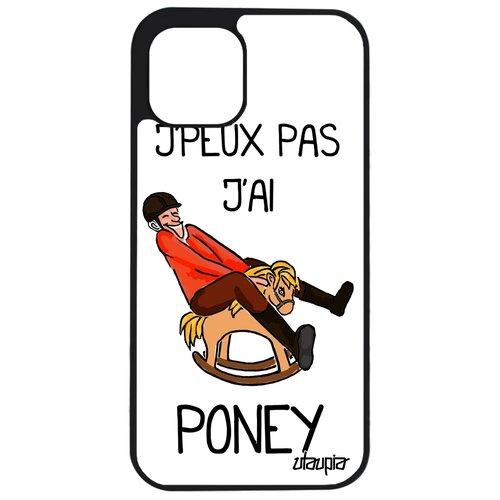 """Чехол на мобильный iPhone 12 pro max, """"Не могу - у меня пони!"""" Шутка Пародия"""