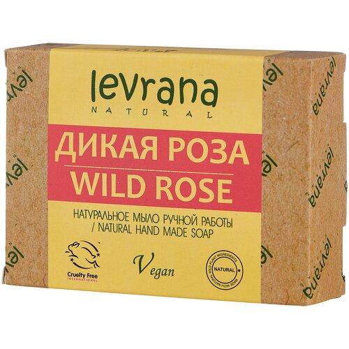 Мыло кусковое Levrana Дикая роза, 100 г