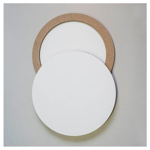Купить Универсальная двусторонняя основа для картины с усилением, диаметр 30 см, ResinArt, 00000535_30, Доски и мольберты