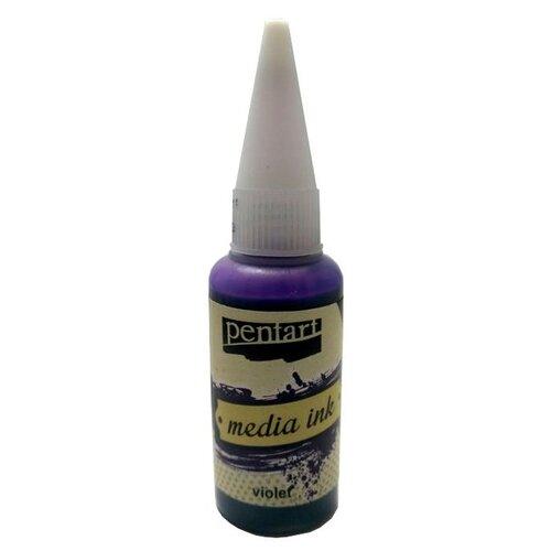 Купить Алкогольные чернила фиолетовые (Violet) 20 мл, Pentart, Краски