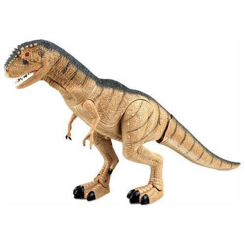 Фото - Робот Mioshi Active Доисторический ящер (Ругопс) MAC0601-026, коричневый интерактивная мягкая игрушка mioshi active весёлый щенок mac0601 006 белый
