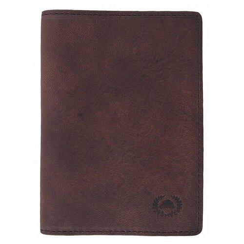 Обложка для паспорта Tony Perotti Vintage, мужская, натуральная кожа, коричневый