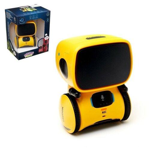 Купить ZHORYA Робот интерактивный «Милый робот», световые и звуковые эффекты, цвет жёлтый, Роботы и трансформеры
