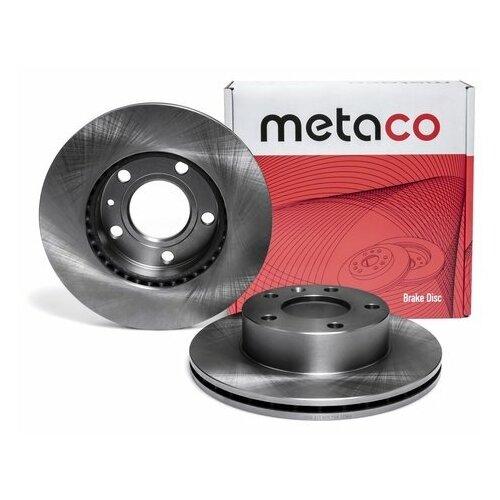 Диск тормозной передний вентилируемый (Производитель: METACO 3050215)