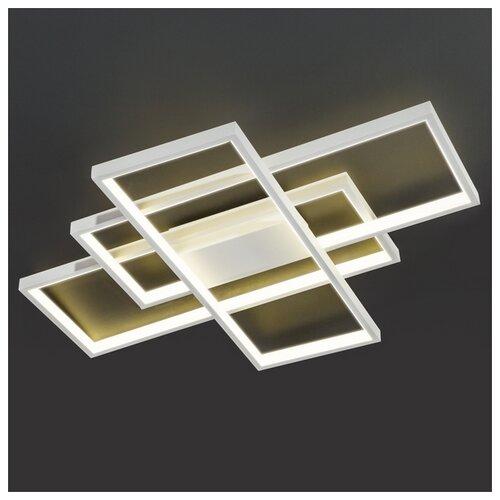 Фото - Светильник светодиодный Eurosvet Direct 90177/3 белый, LED, 65 Вт светильник eurosvet потолочный светодиодный 90177 3 сатин никель