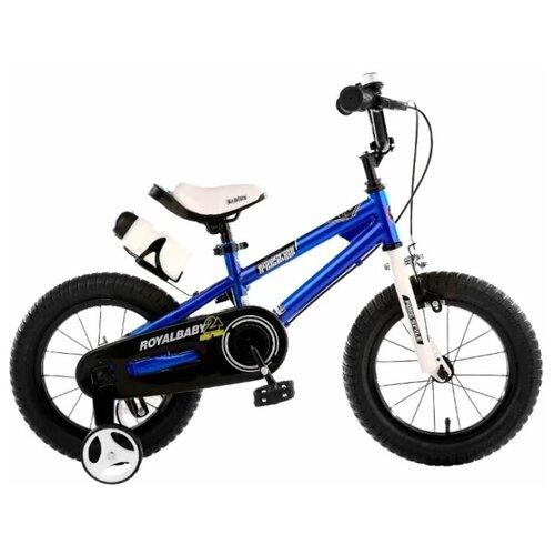 Фото - Детский велосипед Royal Baby RB18B-6 Freestyle 18 Steel синий (требует финальной сборки) детский велосипед tong yue 2 3 6 8 12 14 16 18