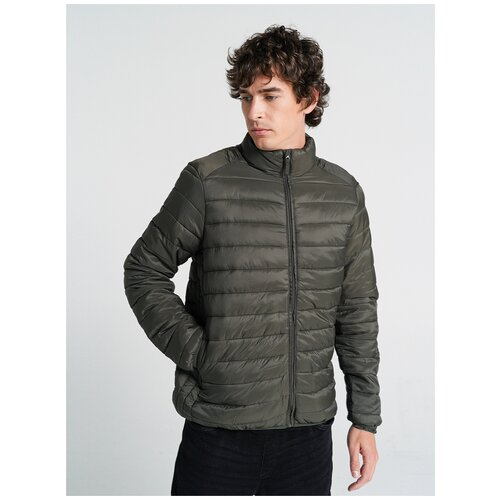 Куртка на синтепоне ТВОЕ A6610 размер S, хаки, MEN