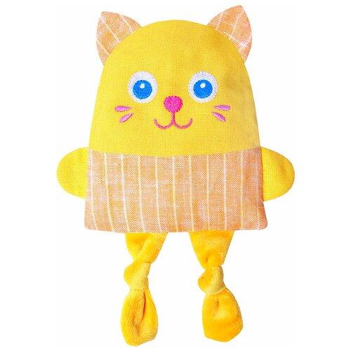 Купить Игрушка-грелка Мякиши Крошка Кот 22 см, Мягкие игрушки