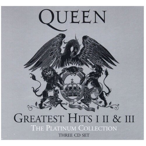 Universal Queen. The Platinum Collection. Greatest Hits I, II & III (3 CD)
