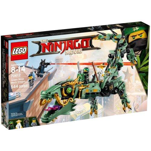 Фото - Конструктор LEGO The Ninjago Movie 70612 Механический дракон Зеленого ниндзя конструктор lego ninjago 70599 дракон коула