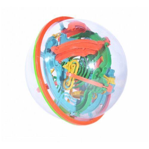 Головоломка BRADEX Шар-лабиринт 3D (DE 0033) красный/зеленый/синий