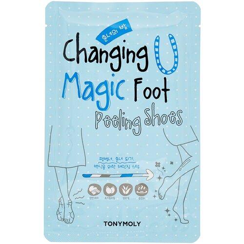 TONY MOLY Носочки для пилинга ног Changing u magic foot 34 мл