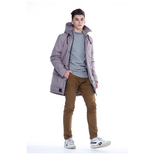 Купить Парка для мальчика Talvi 98320, размер 140/68, цвет темнный песок, Куртки и пуховики