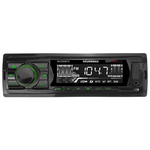 Автомагнитола SoundMAX SM-CCR3071F, черная