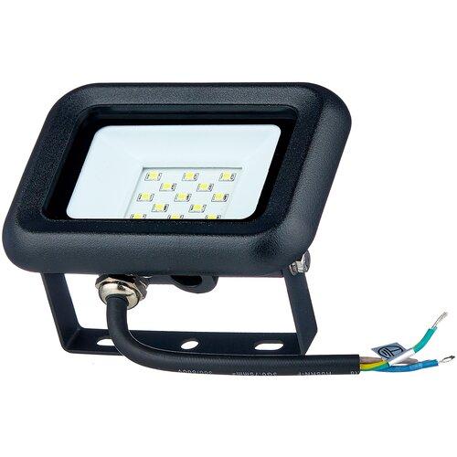 Прожектор светодиодный 10 Вт LLT СДО-5-10 PRO (10Вт 6500К 750Лм) светодиодный светильник без эпра llt ссп 158 16вт 230в 6500к 1100лм 550мм ip65 llt 57 х 6 см