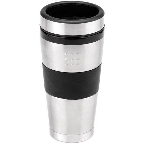Термокружка BergHOFF Orion Mug, 0.5 л черный/серебристый