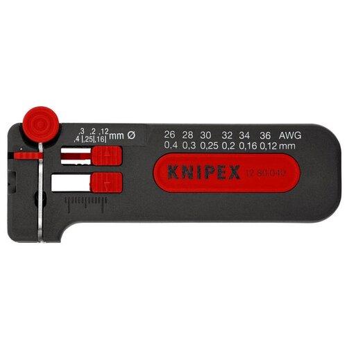 Стриппер Knipex 12 80 040 SB черный/красный