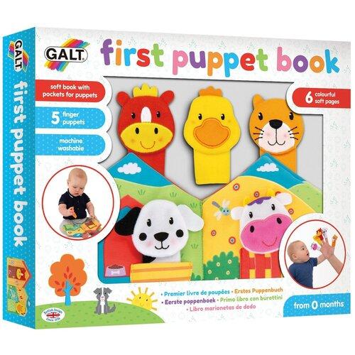 Купить Развивающая игрушка Galt First Puppet Book 1004363, Развивающие игрушки