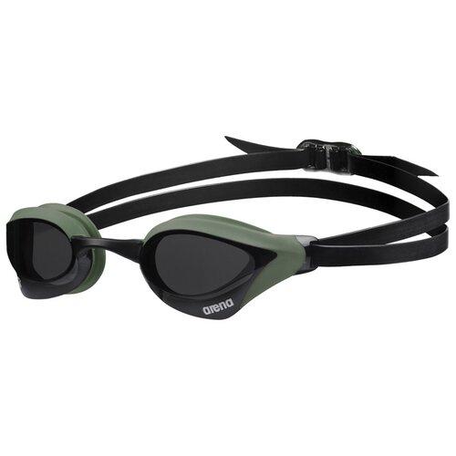 Фото - Очки для плавания arena Cobra Core Swipe, smoke-army-black очки для плавания arena zoom neoprene 92279 black clear black