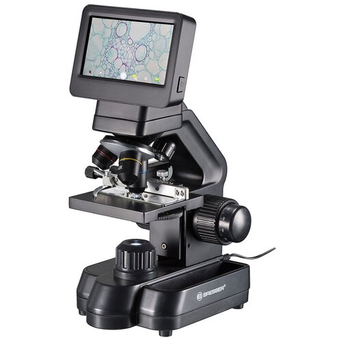 Фото - Микроскоп цифровой Bresser Biolux Touch 5 Мпикс HDMI микроскоп bresser junior biolux sel 40 1600x blue 74322