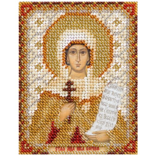 Купить Набор для вышивания PANNA CM-1753 ( ЦМ-1753 ) Икона Святой мученицы Ники (Виктории) Коринфской , Наборы для вышивания