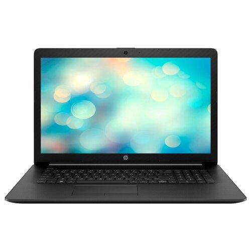 Ноутбук HP 17-by2016ur (Intel Pentium 6405U 2400MHz/17.3/1600x900/4GB/256GB SSD/DVD-RW/Intel UHD Graphics/Wi-Fi/Bluetooth/DOS) 22Q61EA, черный