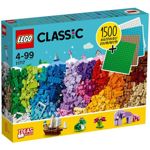 Конструктор LEGO Classic 11717 Кубики, кубики, пластины