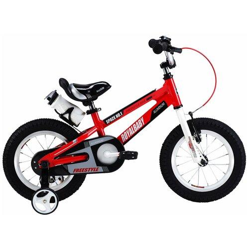 Детский велосипед Royal Baby RB16-17 Freestyle Space №1 Alloy Alu 16 красный (требует финальной сборки) двухколесные велосипеды royal baby freestyle space 1 alloy 14