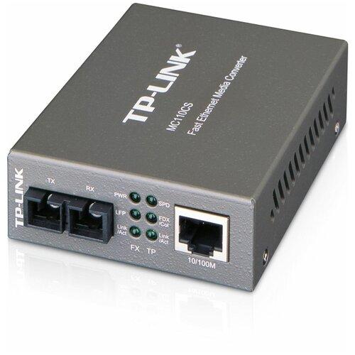 Фото - Медиаконвертер TP-Link MC110CS медиаконвертер tp link mc210cs 1000mbit rj45 1000mbit sc