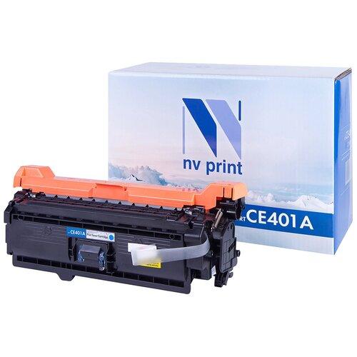 Фото - Картридж NV Print CE401A для HP, совместимый картридж nv print cf280x ce505x для hp совместимый