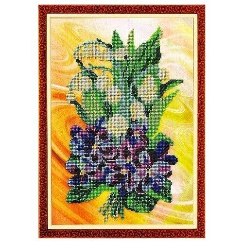 Купить Набор для вышивания «Радуга бисера» В-222 Весенний салют, Наборы для вышивания