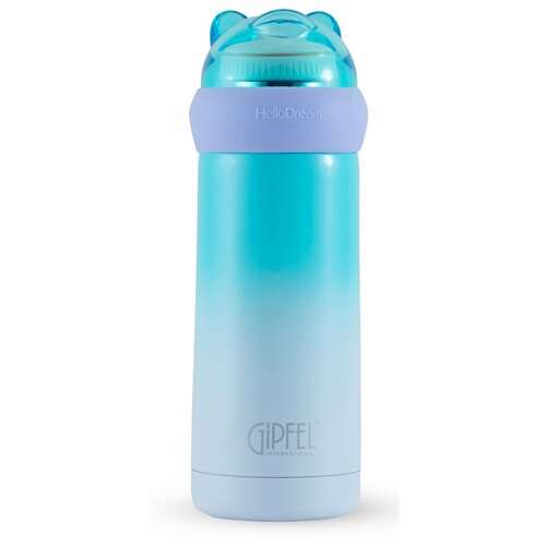 Классический термос GIPFEL Orso, 0.35 л голубой