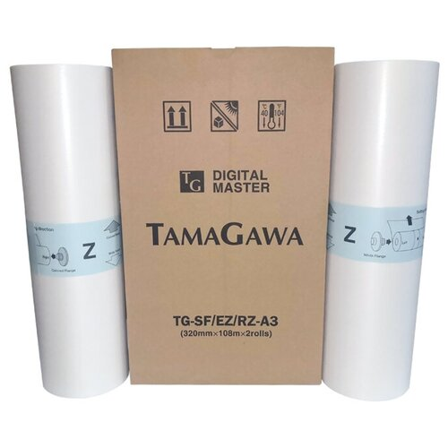 Фото - Мастер-пленка Tamagawa TG-SF/EZ/RZ A3 для ризографов Riso 2 рулона мастер пленка a3 ez oat
