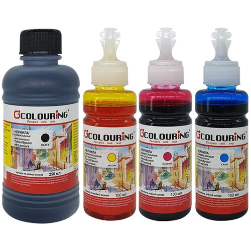 Фото - Чернила (краска) для заправки принтера HP DeskJet Ink Advantage 3787 (набор ОПТИМА) чернила краска для заправки принтера hp deskjet ink advantage 3787 набор мини