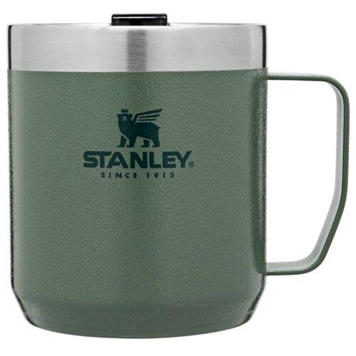 Термокружка STANLEY Classic Legendary Camp Mug, 0.35 л зеленый