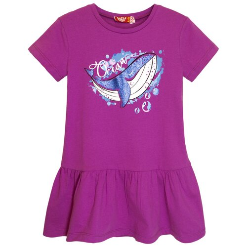 платье для девочки acoola pomelo цвет голубой 20220200368 400 размер 104 8205 Платье для девочки лиловый, размер 104-56