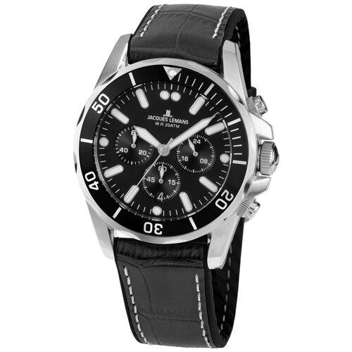 Фото - Наручные часы JACQUES LEMANS 1-2091A наручные часы jacques lemans 1 2027d