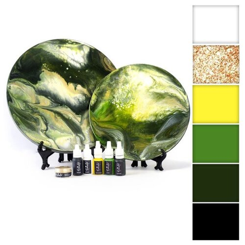 Купить Набор для создания картины эпоксидной смолой ResinArtBox 010, Наборы для декупажа