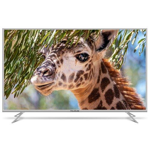 Фото - Телевизор Polarline 65PU51TC-SM 65 (2018), серебристый led телевизор polarline 32pl14tc sm