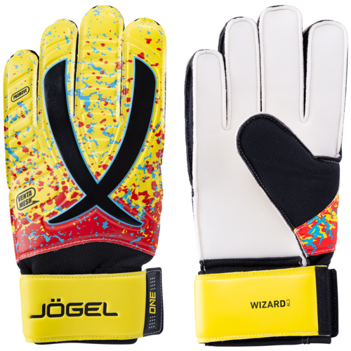 Перчатки Jogel размер 5, желтый