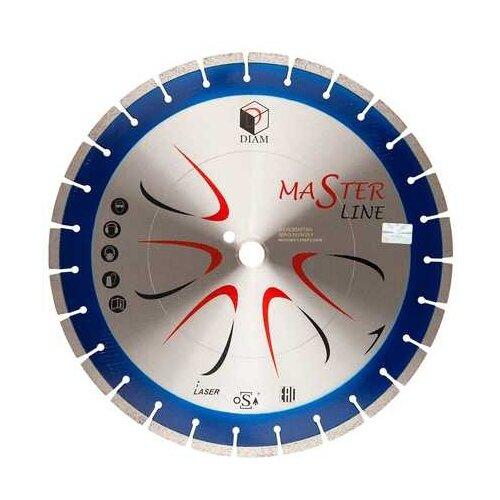 Фото - Диск алмазный отрезной DIAM Master Line 000504, 400 мм 1 шт. diam 030657 62 x 450 мм